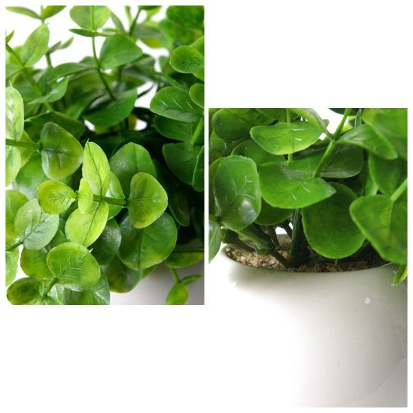 フェイクグリーンS ユーカリ (人工観葉植物 光触媒加工)|wutty|02