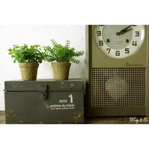 ミニフェイクグリーン 2点set KI ペーパー鉢 (人工観葉植物)|wutty|03