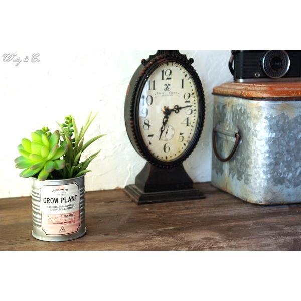 フェイクグリーン Tin Succulent Pink Label ブリキ鉢 光触媒加工 ( 多肉植物 人工観葉植物 サボテン イミテーショングリーン )|wutty|07