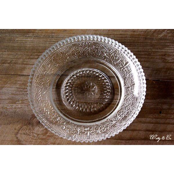 デザート皿 3枚セット CRONOS (ガラス プレート コースター)|wutty|02