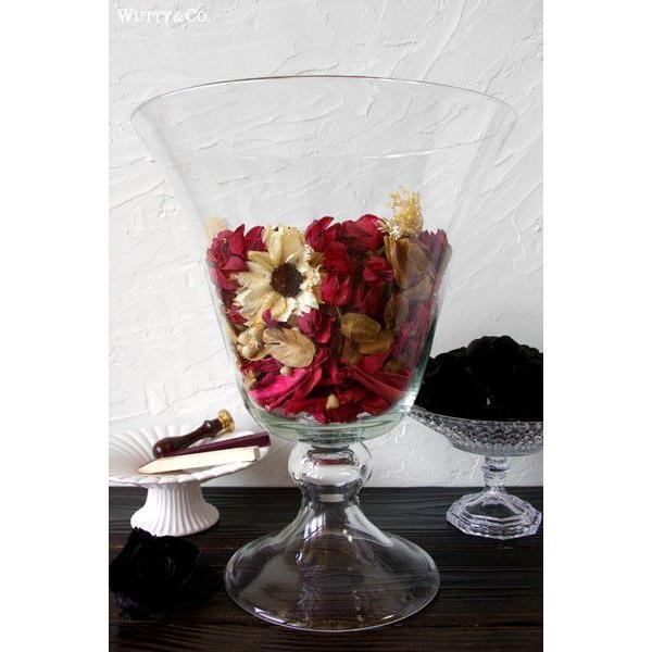 花瓶 アンボワーズ (ガラス フラワーベース おしゃれ 花びん)|wutty