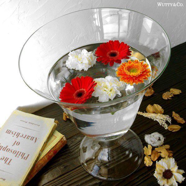 花瓶 アンボワーズ (ガラス フラワーベース おしゃれ 花びん)|wutty|03