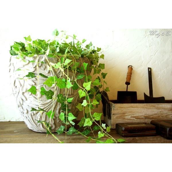 植木鉢 Foliage Relief Pot ( フラワーポット おしゃれ 陶器鉢 アンティーク調 鉢植え )|wutty|04