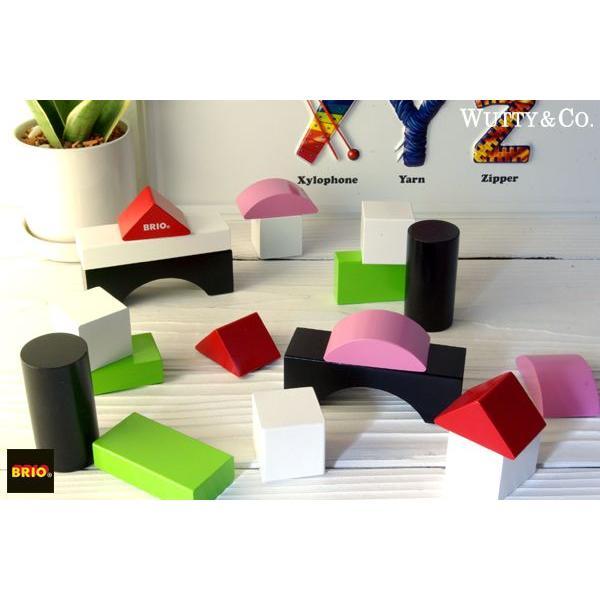 積み木 BRIO カラーブロック50 (知育玩具 木のおもちゃ)|wutty