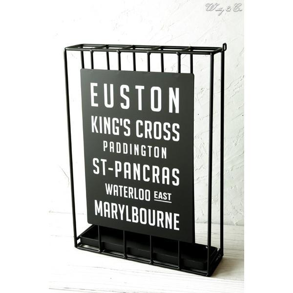 傘立て Euston Slim ( おしゃれ シンプル アイアン アンティーク調 玄関収納 アンブレラスタンド ) KI wutty