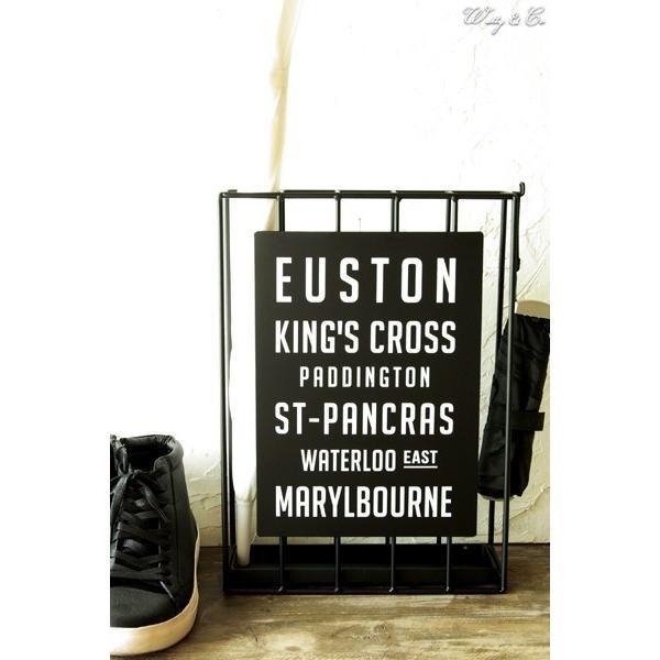 傘立て Euston Slim ( おしゃれ シンプル アイアン アンティーク調 玄関収納 アンブレラスタンド ) KI wutty 05
