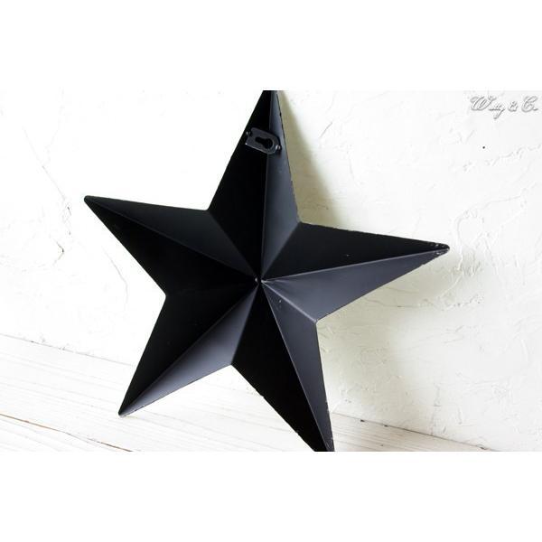 壁飾り STAR L-size Blue ( アンティーク調 置物 壁掛け 星型 オーナメント ブリキ ) KI|wutty|04