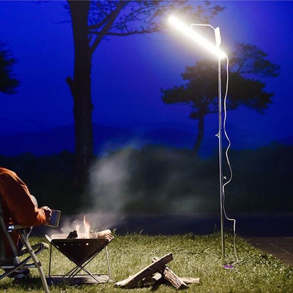 LEDランタン ポールライト USB給電 屋外 吊り下げ アウトドア キャンプライト 無段階調光 タッチセンサー  省エネ ショーケースライト ギフト|wystyle|02