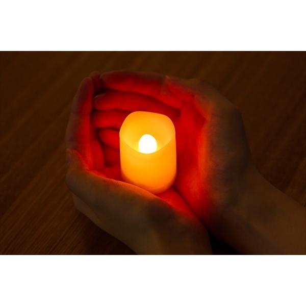 LED ミニキャンドルライト 6個セット 12色点灯 リモコン付き タイマー付き ゆらぎ照明モード切替 ろうそく 電池式 インテリア|wystyle|03