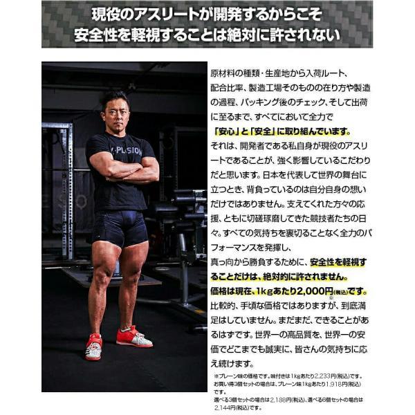 プロテイン エクスプロージョン 100%ホエイプロテイン 選べる3個セット 3kg 日本製 男性 女性 X-PLOSION|x-plosion|06