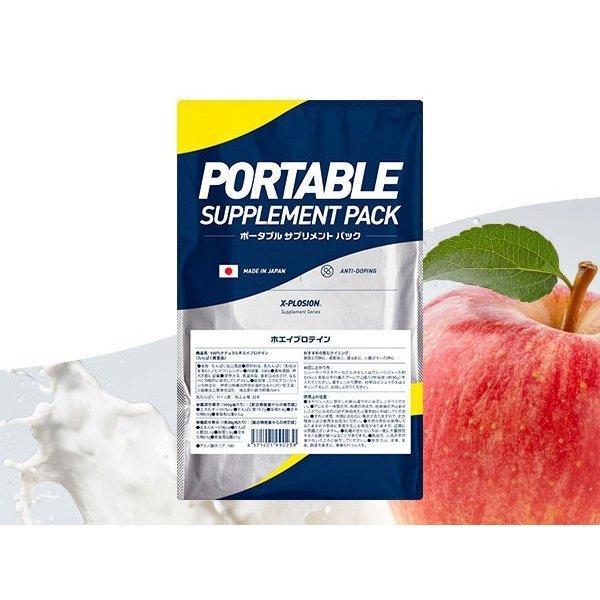 プロテイン エクスプロージョン ホエイプロテイン アップルミルク味 300g お試し用 おためし 少量パック 日本製 男性 女性 X-PLOSION x-plosion 03