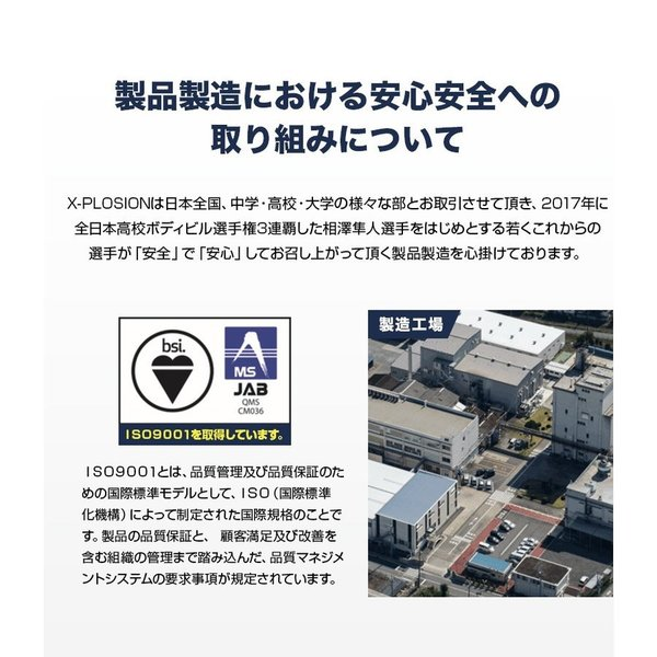 プロテイン エクスプロージョン ホエイプロテイン アップルミルク味 300g お試し用 おためし 少量パック 日本製 男性 女性 X-PLOSION x-plosion 06