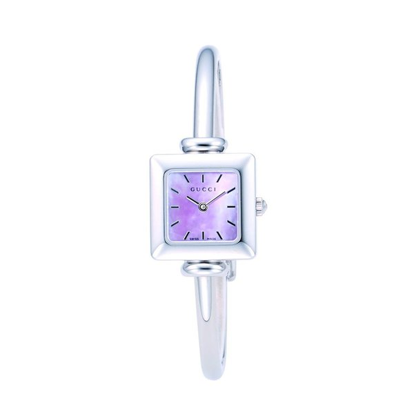 7ad3dd87754f グッチ GUCCI 腕時計 レディースウォッチ ピンク YA019519 【glw】の画像
