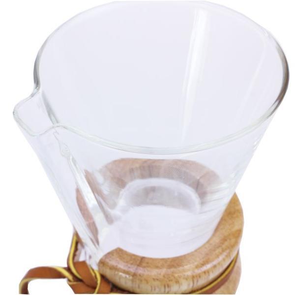ケメックス コーヒーメーカー CHEMEX CM-1C 3カップ用ドリップ式 フィルター付き(FP-2)|x-sell|03