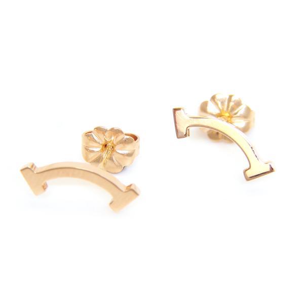 ティファニー TIFFANY ピアス tiffany-Tスマイル ローズゴールド(K18RG) 36667249 【acl】
