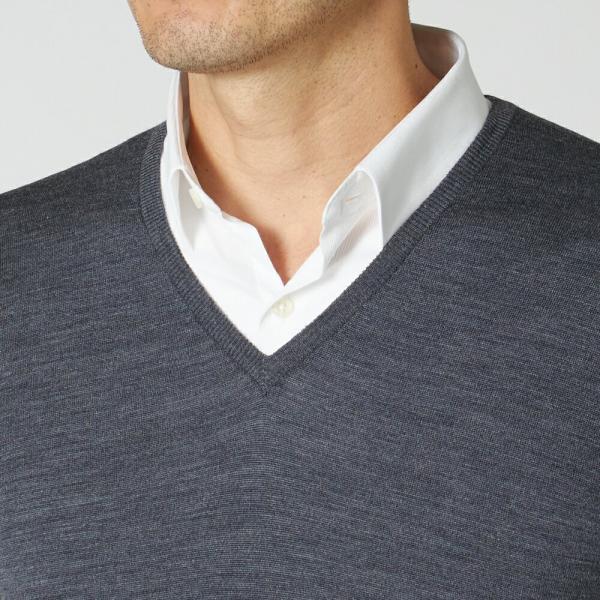 ジョンスメドレー メンズ Vネックセーター ブレナム JOHN SMEDLEY BLENHEIM PULLOVER|x-sell|06