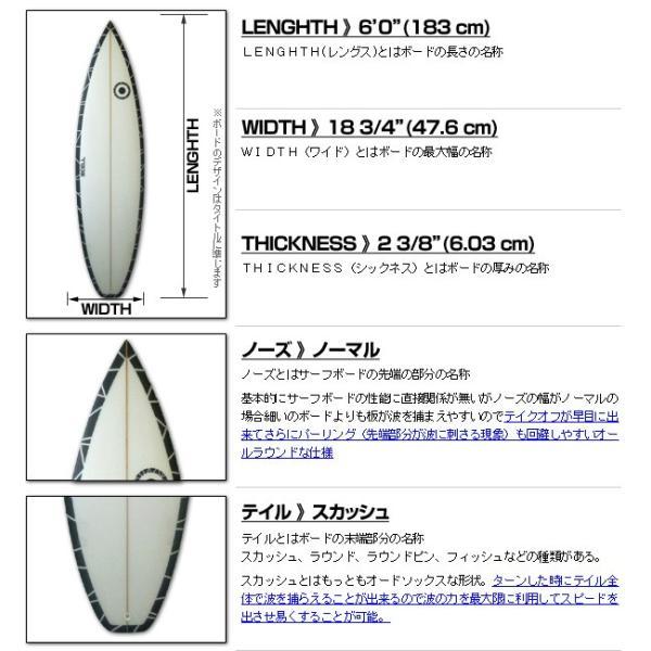 サーフボード ショートボード ショート レインボー 虹 6'0 FCS対応 フィン付属 サーフィン SCELL|x-sports|02