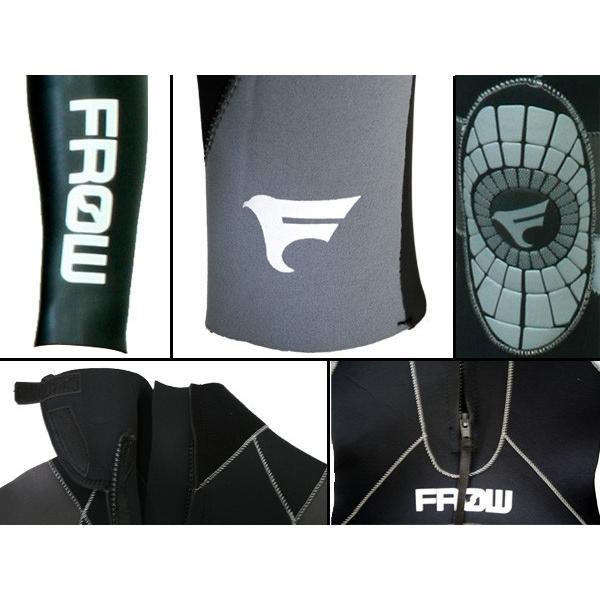 ウェットスーツ 2mm メンズ スプリング ウエットスーツ サーフィン ダイビング L FROW|x-sports|02