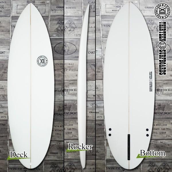 サーフボード ショートボード 5'9 ショート AMD シングルフィン付属 サーフィン 13SURF|x-sports|02