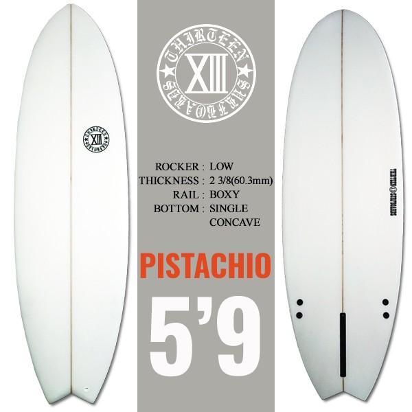 サーフボード ショートボード 5'9 ショート PTO シングルフィン付属 サーフィン 13SURF|x-sports