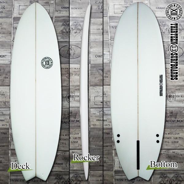 サーフボード ショートボード 5'9 ショート PTO シングルフィン付属 サーフィン 13SURF|x-sports|02