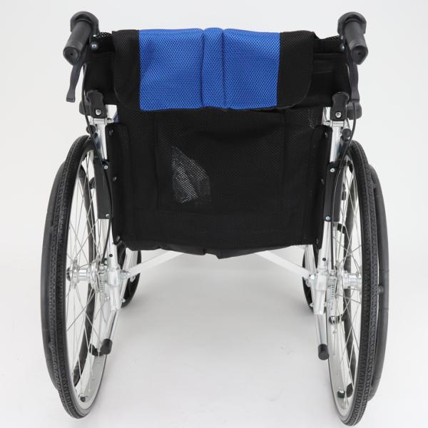 車椅子 軽量 折りたたみ カドクラ チャップス オーシャンブルー A101-AB 自走用 自走介助兼用 送料無料 全10色 kadokura|xenashopping|08