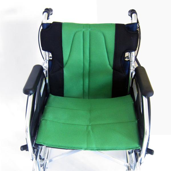 車椅子 全10色 自走用 自走式 車イス 送料無料 カドクラ KADOKURA チャップス フォレストグリーン A101-AGN|xenashopping|06