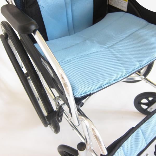 車椅子 全10色 自走用 自走式 車イス 送料無料 カドクラ KADOKURA チャップス スカイブルー A101-ALB|xenashopping|06