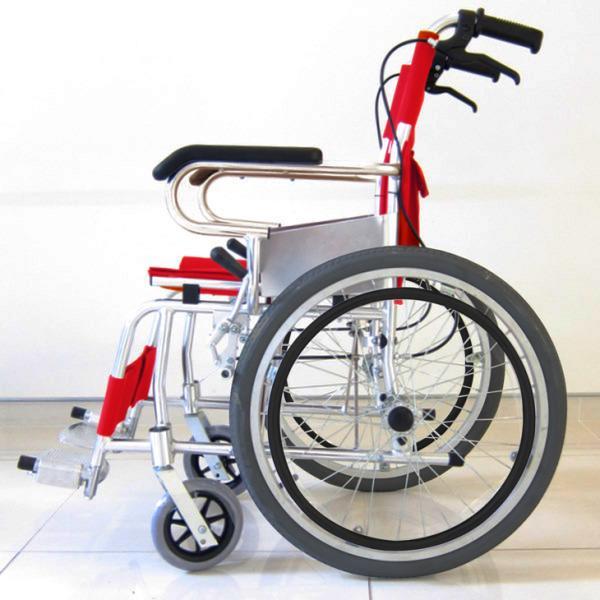 車椅子 自走用 自走式 車イス 送料無料 カドクラ KADOKURA アプラウドA102-AP|xenashopping|04