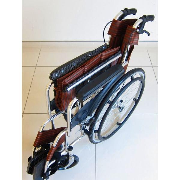 車椅子 全2色 自走用 車イス アウトレット カドクラ KADOKURA チア チョコブラウン A102-CB|xenashopping|04