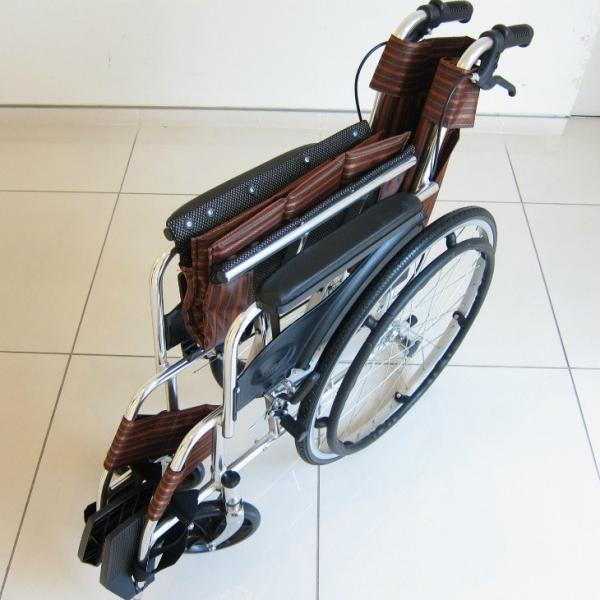 車椅子 全2色 自走用 自走式 車イス アウトレット カドクラ KADOKURA チア ワインレッド A102-WR|xenashopping|03