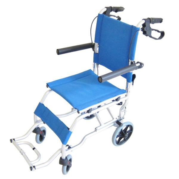 車椅子 全3色 簡易 車イス 送料無料 カドクラ KADOKURA ネクスト イースタンブルー A501-AB|xenashopping|03