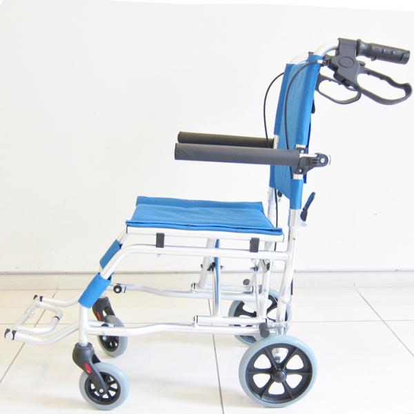 車椅子 全3色 簡易 車イス 送料無料 カドクラ KADOKURA ネクスト イースタンブルー A501-AB|xenashopping|04