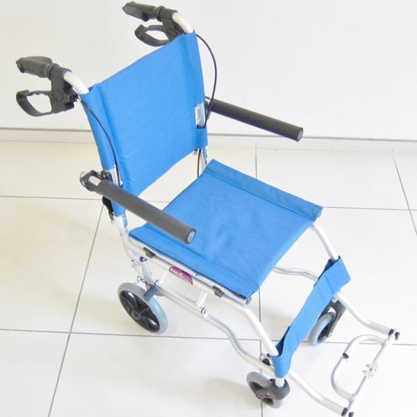 車椅子 全3色 簡易 車イス 送料無料 カドクラ KADOKURA ネクスト イースタンブルー A501-AB|xenashopping|06