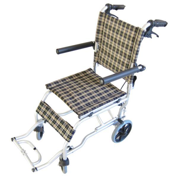 車椅子 全3色 簡易 車イス 送料無料 カドクラ KADOKURA ネクスト チェック A501-AK|xenashopping|03