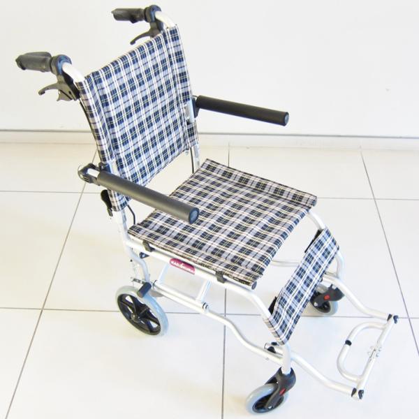 車椅子 全3色 簡易 車イス 送料無料 カドクラ KADOKURA ネクスト チェック A501-AK|xenashopping|05