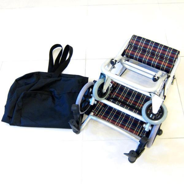 車椅子 全3色 簡易 介助用 介助式 車イス 送料無料 カドクラ KADOKURA タッチ A502-AK 介助用 xenashopping 07