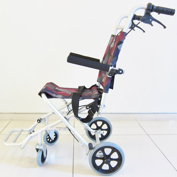 車椅子 全3色 簡易 車イス 送料無料 カドクラ KADOKURA タッチ レッドパープル A502-AKRP|xenashopping|04