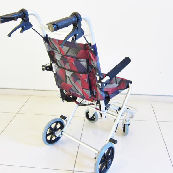 車椅子 全3色 簡易 車イス 送料無料 カドクラ KADOKURA タッチ レッドパープル A502-AKRP|xenashopping|05