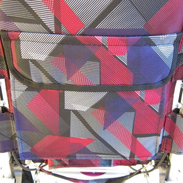車椅子 全3色 簡易 車イス 送料無料 カドクラ KADOKURA タッチ レッドパープル A502-AKRP|xenashopping|06