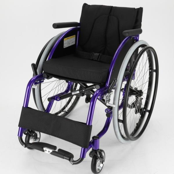 車椅子 自走式 スポーツ 車イス カドクラ KADOKURA ポセイドン A701 パープル|xenashopping|03