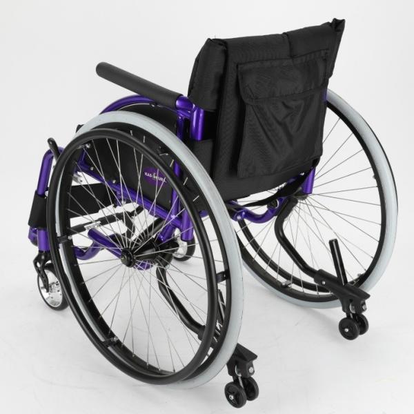 車椅子 自走式 スポーツ 車イス カドクラ KADOKURA ポセイドン A701 パープル|xenashopping|05