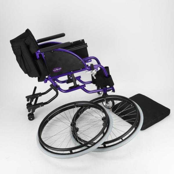 車椅子 自走式 スポーツ 車イス カドクラ KADOKURA ポセイドン A701 パープル|xenashopping|07
