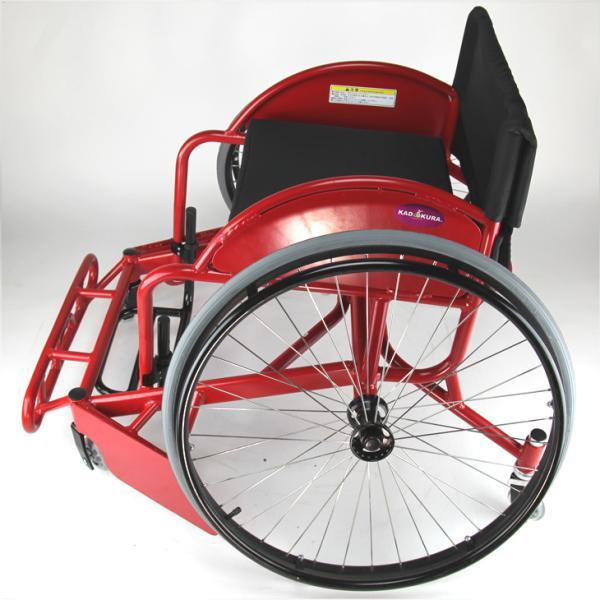 車椅子 スポーツ 自走式  ラグビー 車イス カドクラ KADOKURA ノーサイド A702|xenashopping|04