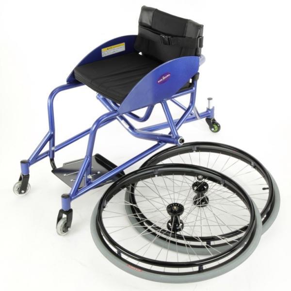 車椅子 自走式 スポーツ テニス バトミントン 車イス カドクラ KADOKURA ケイ A705|xenashopping|11