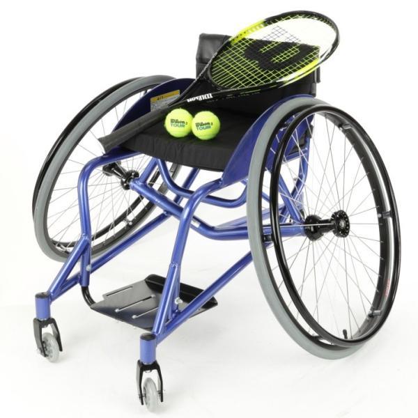 車椅子 自走式 スポーツ テニス バトミントン 車イス カドクラ KADOKURA ケイ A705|xenashopping|03