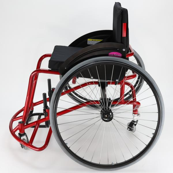 バスケット用 自走式 スポーツ車椅子 ダンク A706 カドクラ KADOKURA ※大型サイズにつき代引不可です|xenashopping|04