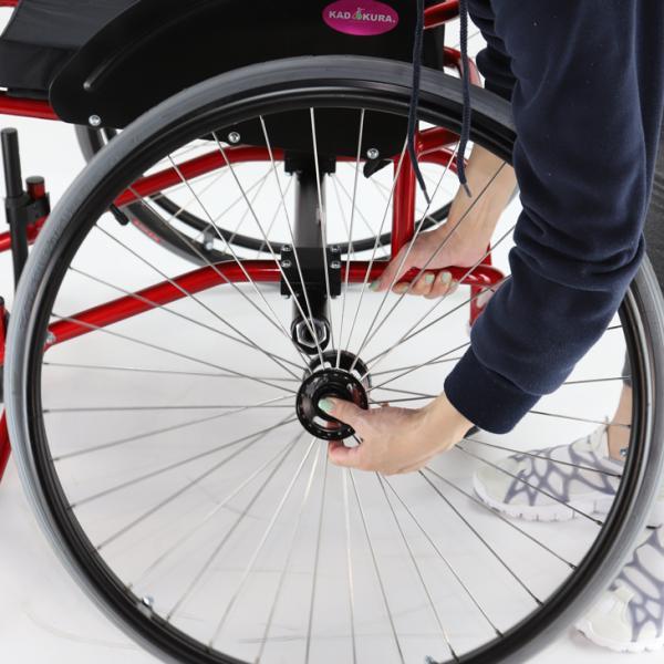 バスケット用 自走式 スポーツ車椅子 ダンク A706 カドクラ KADOKURA ※大型サイズにつき代引不可です|xenashopping|09