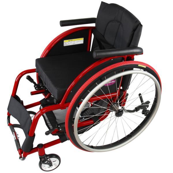 車椅子 自走式 スポーツ 車イス カドクラ KADOKURA ターゲット A707|xenashopping|03