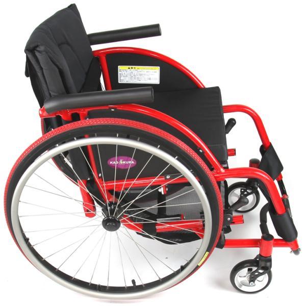 車椅子 自走式 スポーツ 車イス カドクラ KADOKURA ターゲット A707|xenashopping|04